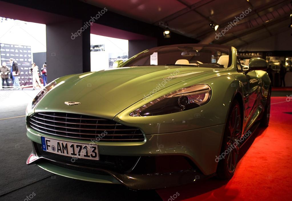 Aston Martin Front View Stock Editorial Photo C Radodn 40561581
