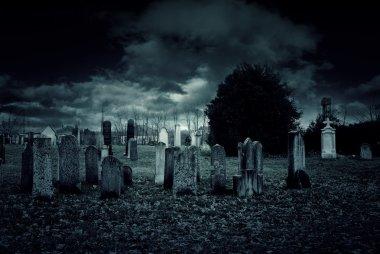 Cemetery night