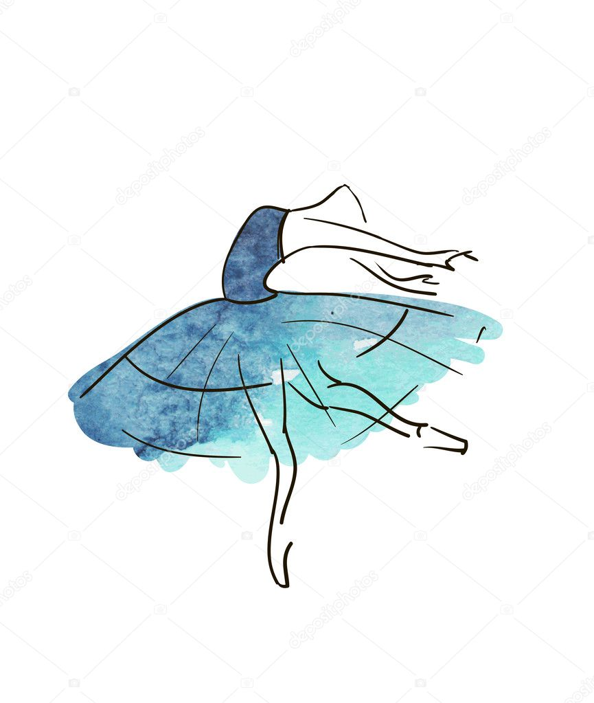 ᐈ Drawing Ballerina Stock Pictures Royalty Free Ballerina Drawings Download On Depositphotos