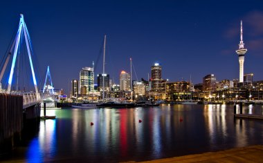The New Zealand city of Auckland
