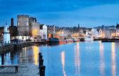 Edinburgh, Skotsko, starý přístav leith