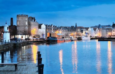 Edinburgh, Scotland, Old Harbour Leith