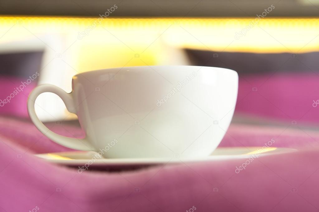 Kawa Lub Herbata Serwowane Do łóżka Zdjęcie Stockowe
