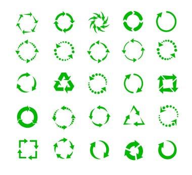 green circle arrows
