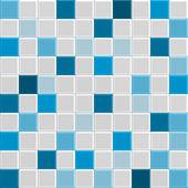Photo blue tile texture