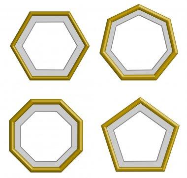 edge golden frame