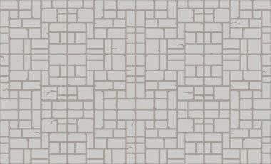 pattern of modern stone blocks