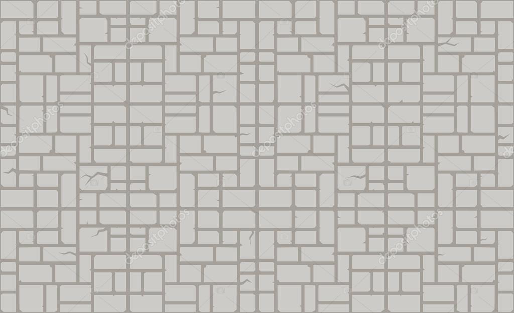 Pattern of modern stone blocks Stock Vector chartcameraman