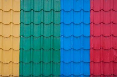 fiber plastic roof tile