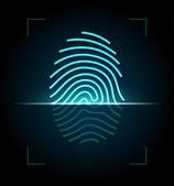 Fingerabdruck-Scanner-Abbildung