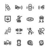 Auto-Sicherheitssymbole