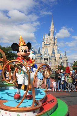 Mickey Mouse in Magic Kingdom, Orlando