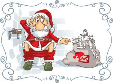 Santa Is in Trouble