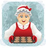 Oma hat ein paar Plätzchen gebacken