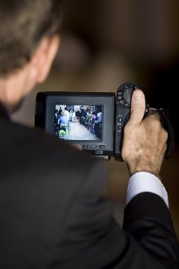 Video at wedding