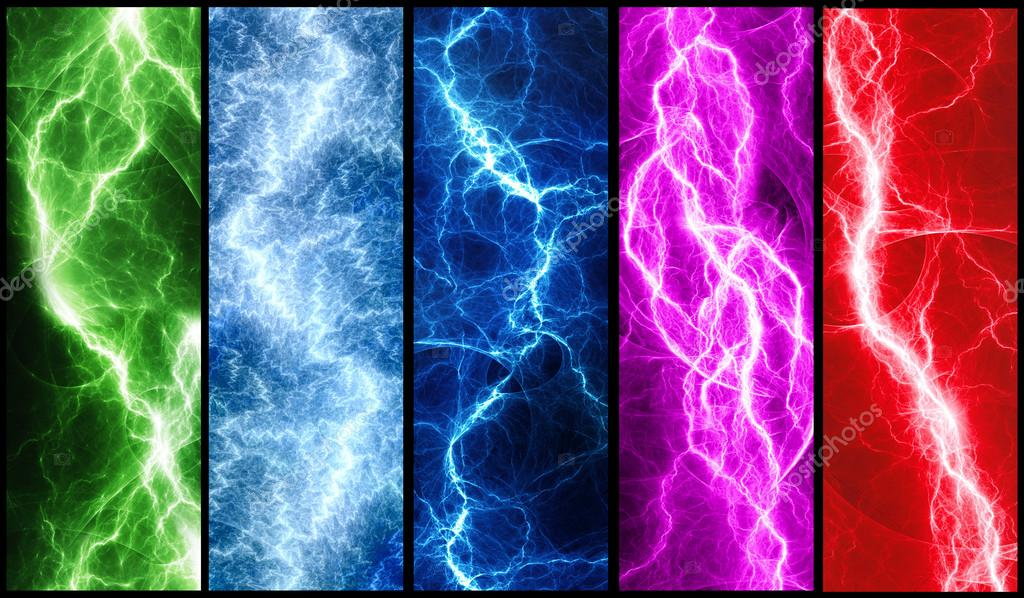 Abstract lightnings
