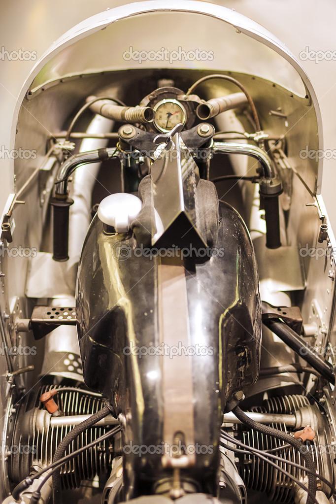 Munich, Germany- june 17, 2012: BMW Rennsport RS54 motorbike