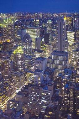 Big Apple Straight After Sunset - New York City at Night
