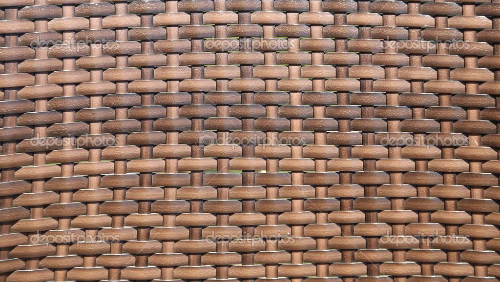 patrón de color sepia tejido de canasta. Vignette — Fotos de Stock ...