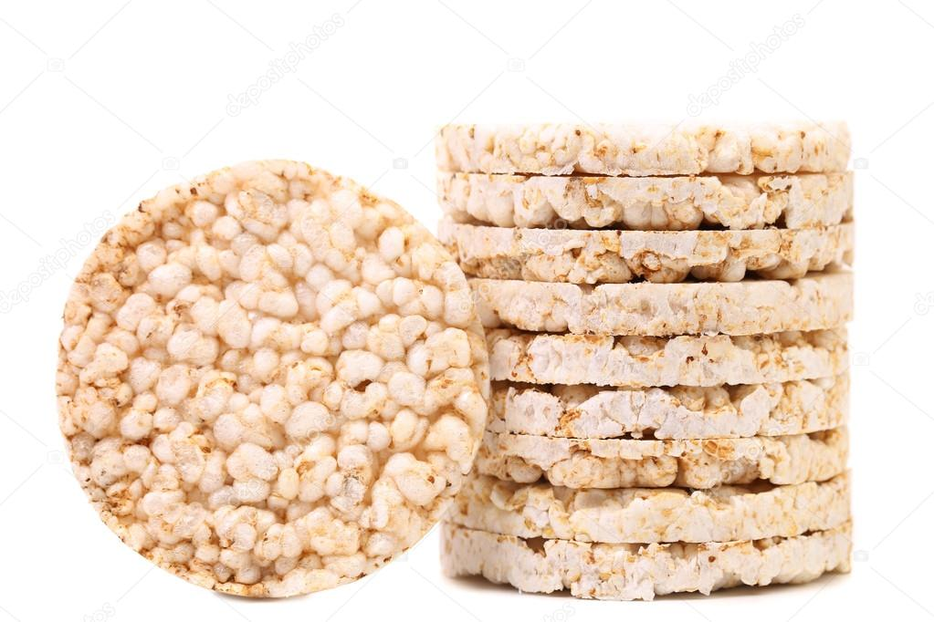 Stack of rice cakes — Stock Photo © indigolotos #29885467
