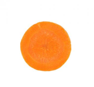 Carrot slice.