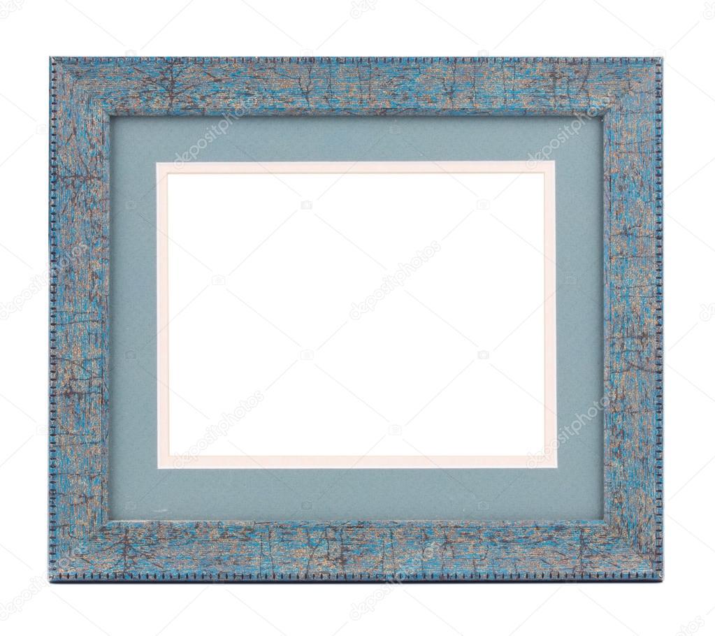 marco de madera azul — Foto de stock © indigolotos #46348279