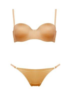 Set beige underwear