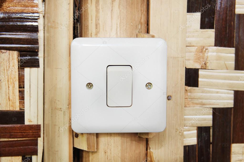 Modern Electrical Switch Of Country Hut Stock Photo 37422129