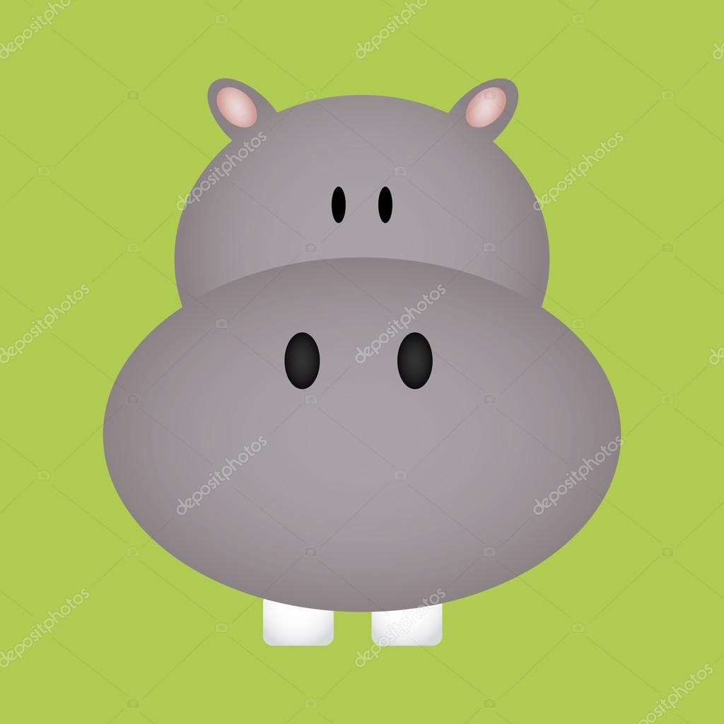 hipopótamo — Archivo Imágenes Vectoriales © L4DISENO #34542755