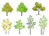 stromy sada