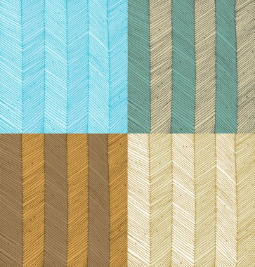 Set of vertical lines texture. Background for wallpapers, cards, arts, textile, labels. Vintage collections