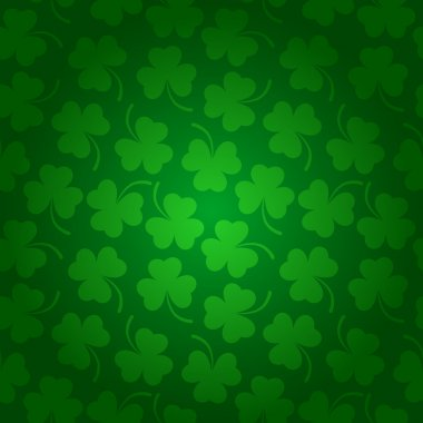 Clover background for St. Patricks Day.