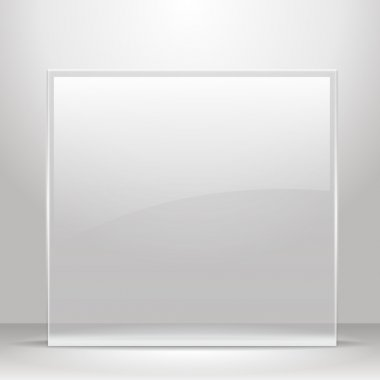 Glass frame for images and advertisement.