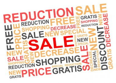 text about sale