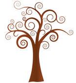 vektor absztrakt fa