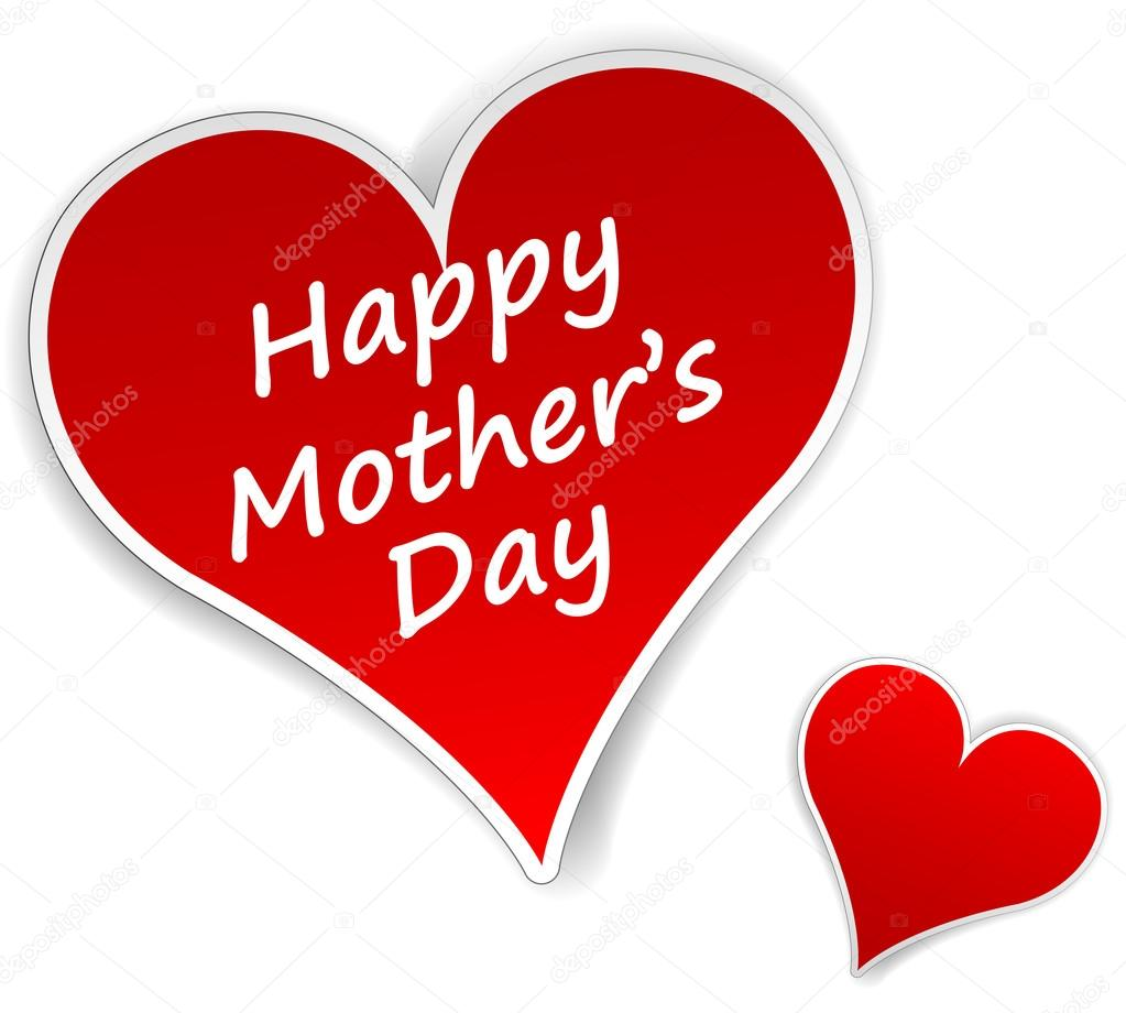 mothers day hearts stock vector nickylarson 46498617