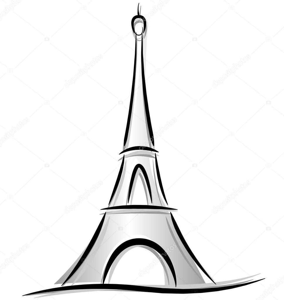 Drawing of eiffel tower stock vector nickylarson 47017643 drawing of eiffel tower stock vector thecheapjerseys Gallery