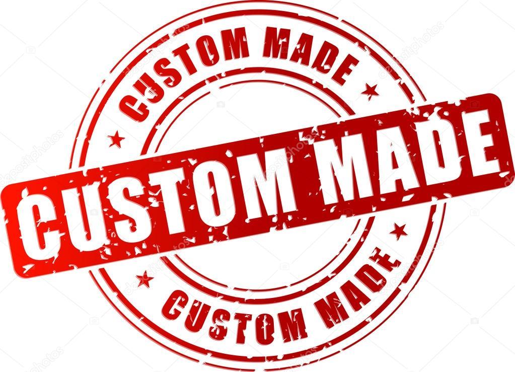 Vector custom made stamp