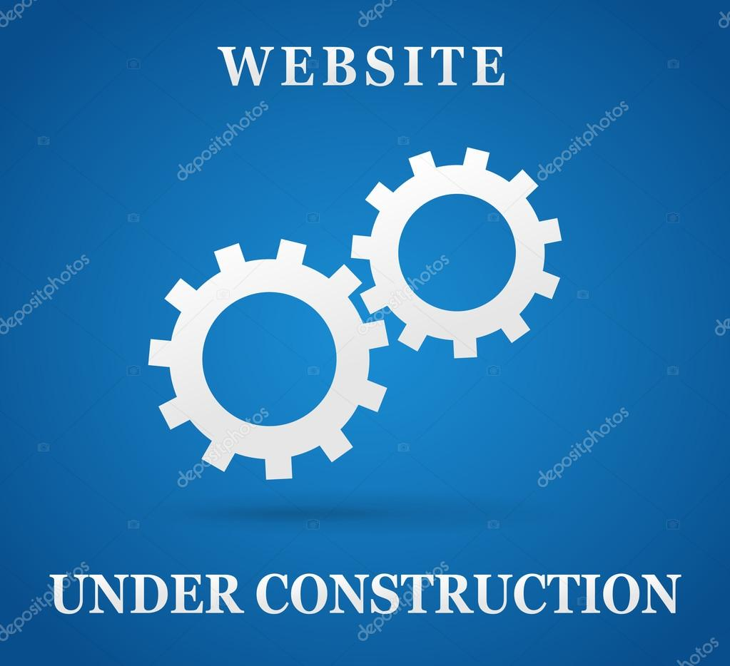 Site Web Sous Page De Construction Image Vectorielle Nickylarson