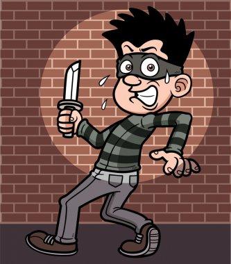 Cartoon thief