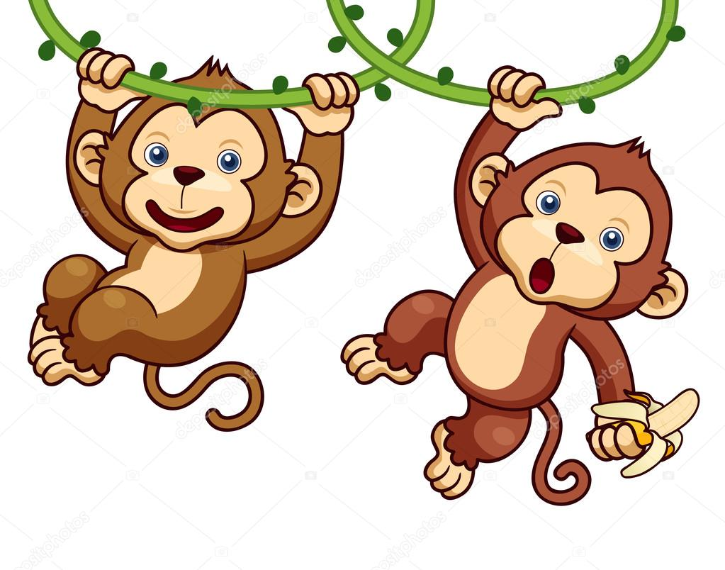 Cartoon Monkeys
