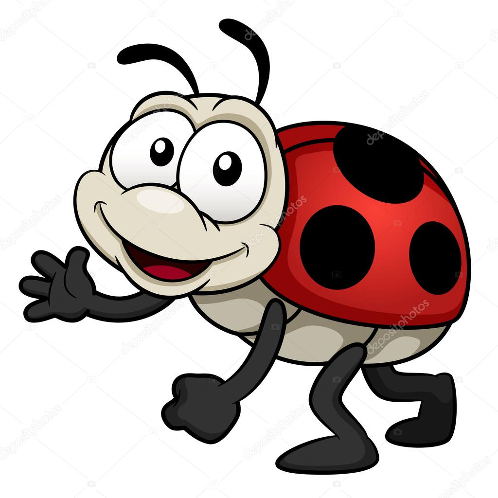 Cartoon Lady bug