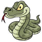 Fotografia serpente dei cartoni animati