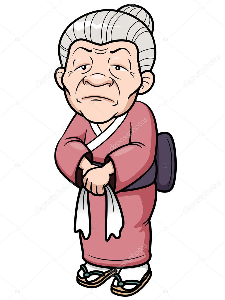 the old woman cartoon stock vector sararoom 29175111 rh depositphotos com cartoon old woman falling out of chair cartoon old woman face