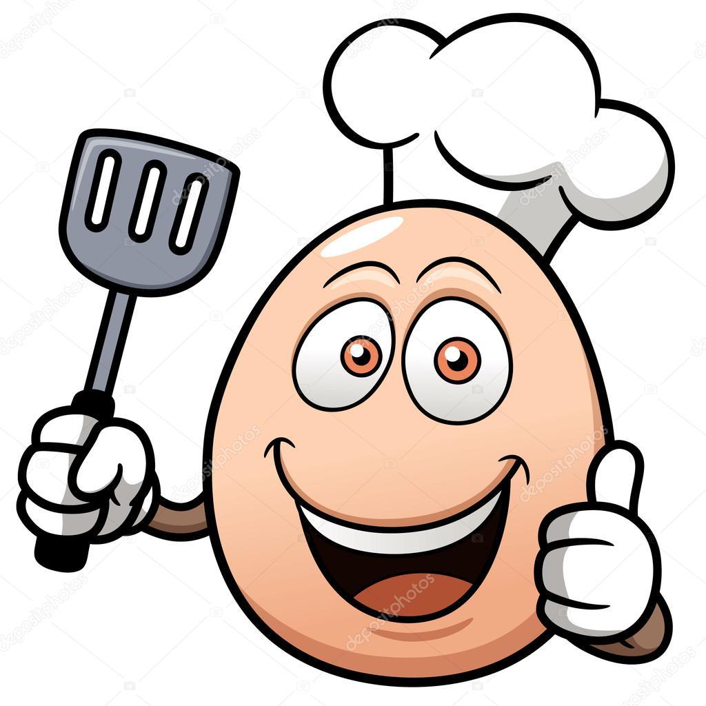 desenho de ovo de chef vetor de stock sararoom 29739415