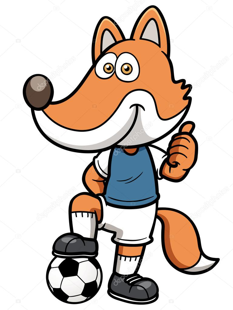Soccer player fox