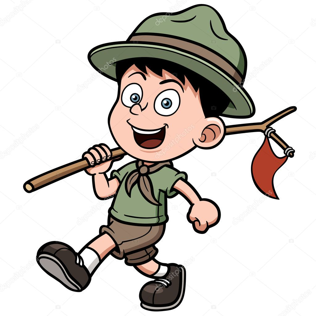 Boy Scout Stock Vectors Royalty Free Boy Scout Illustrations