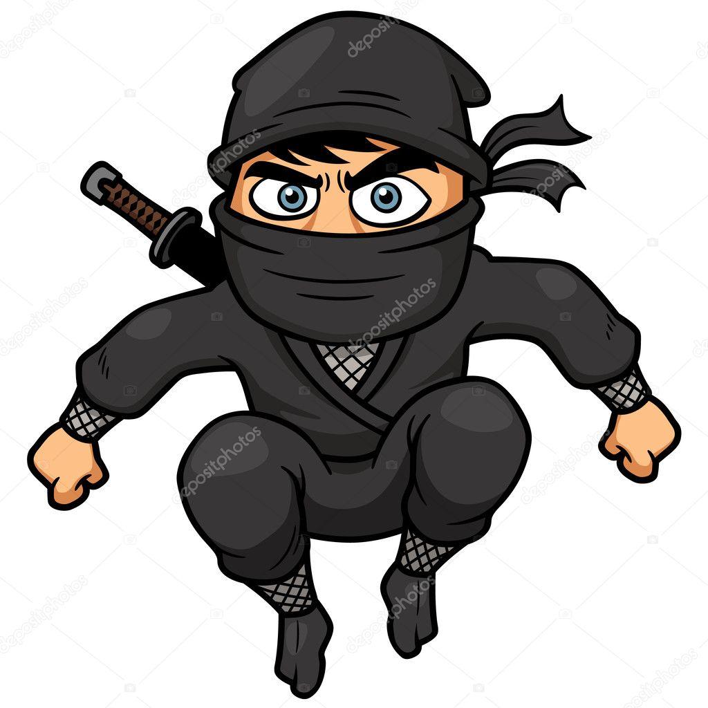 Dessin anim ninja image vectorielle sararoom 34287663 - Dessin anime ninja ...