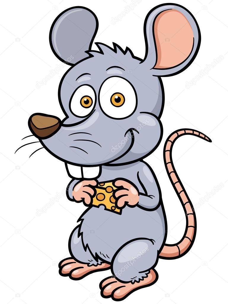 Rato do desenho animado — vetores de stock sararoom