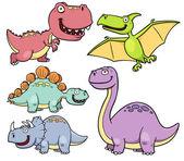 Fotografie Dinosaurs cartoon
